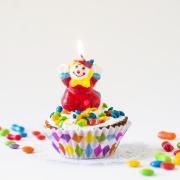 gateau anniversaire clown king jouet