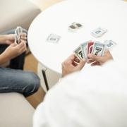 jeux de carte en famille UNO milles Bornes Times's Up