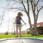trampoline jeu de plein air pour enfant King jouet