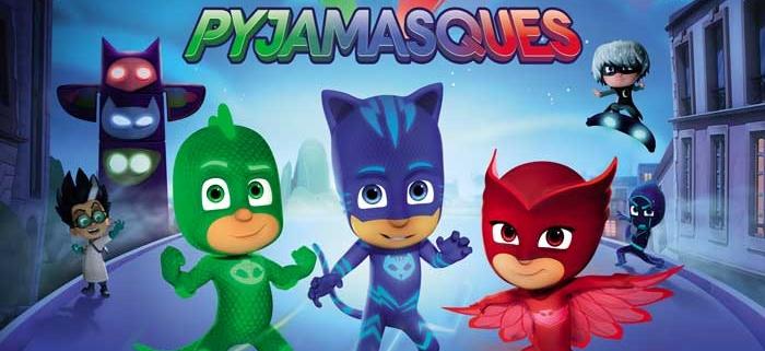 les noueaux super héros pyjamasques