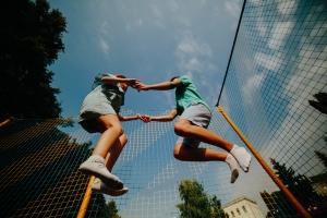 Jeu de plein air trampoline pour enfant King jouet blog