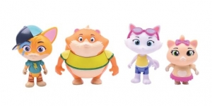 Figurines jouets 44 Chats King Jouet