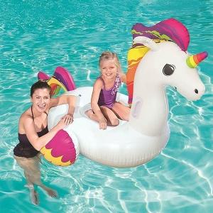 jeux de piscine bouée licorne