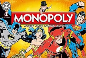 Monopoly jeu de société DC comics