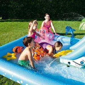 piscine et jeu de plage King Jouet Logitoys