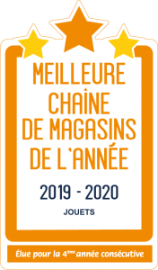 King Jouet Meilleure chaîne de magasins de Jouets de l'année 2019 2020