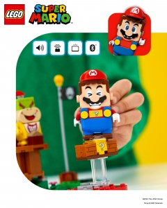 Figurine Mario interactive