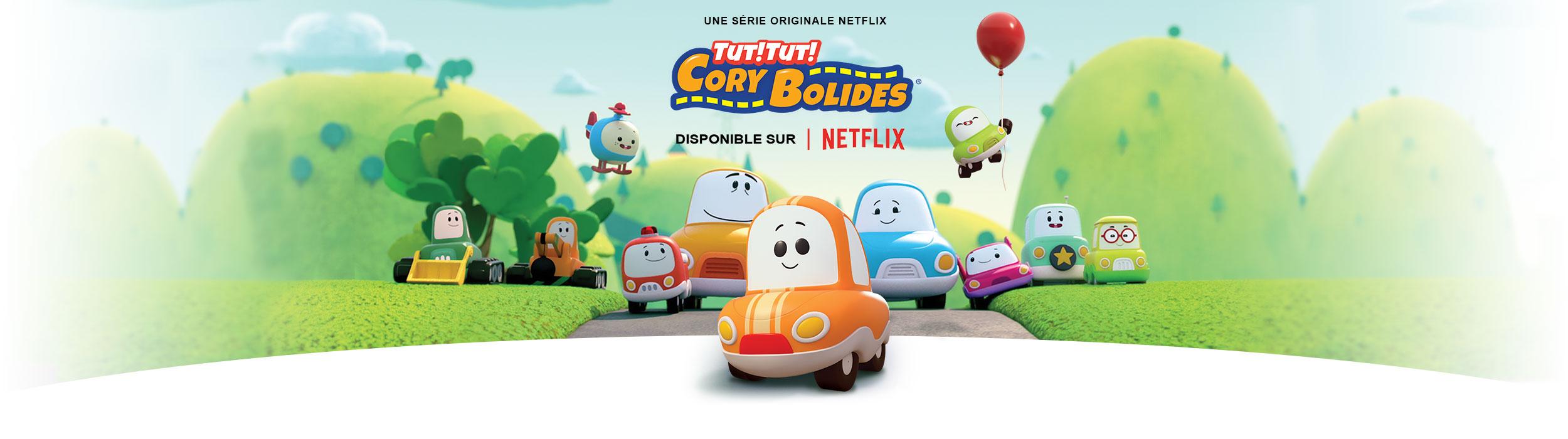 Série Netflix Tut Tut Cory Bolides