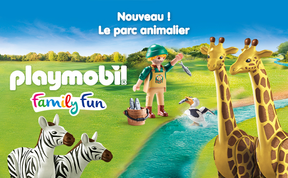Playmobil Family Fun, Le Parc animalier