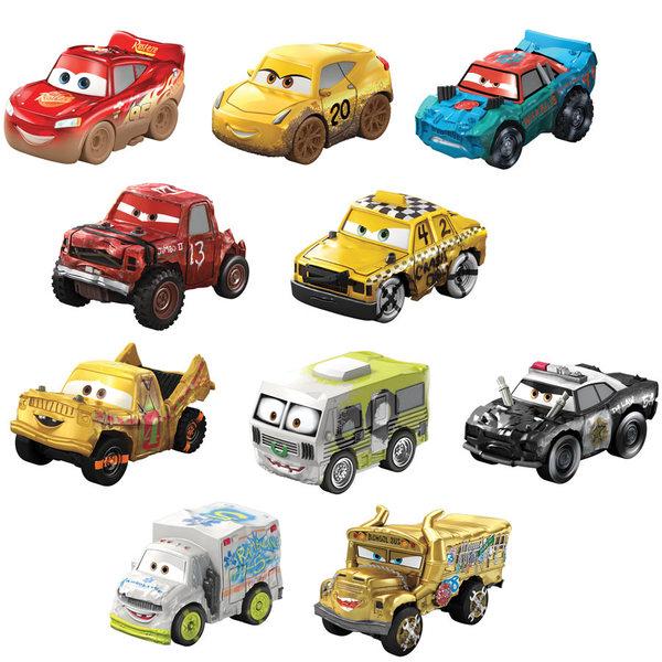 Coffret de véhicules personnages de Cars