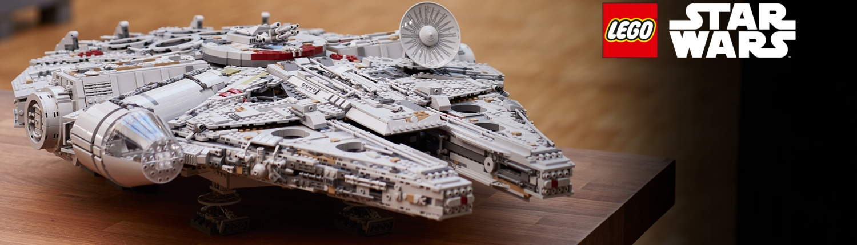 vaisseau star wars LE FAUCON MILLENIUM LEGO® STAR WARS™ (75192)