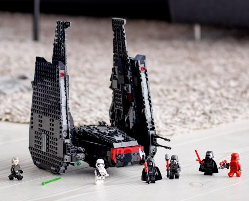 vaisseau star wars 75256-LEGO® Star Wars La navette de Kylo Ren