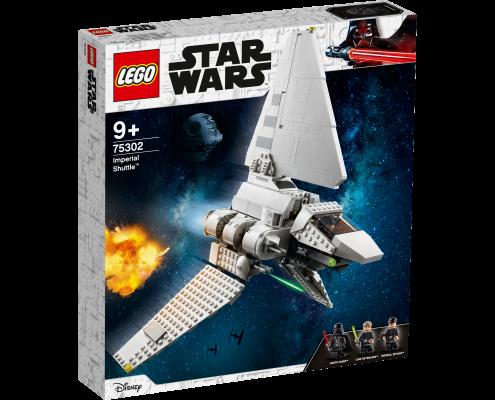 vaisseau star wars LA NAVETTE IMPÉRIALE LEGO® STAR WARS™ (75302)