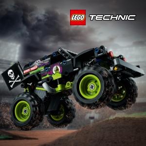 vehicule LEGO 42118 - LEGO® Technic - Monster Jam® Grave Digger®