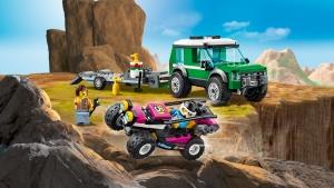 vehicule LEGO 60288 - LEGO City® - Le transport du buggy de course