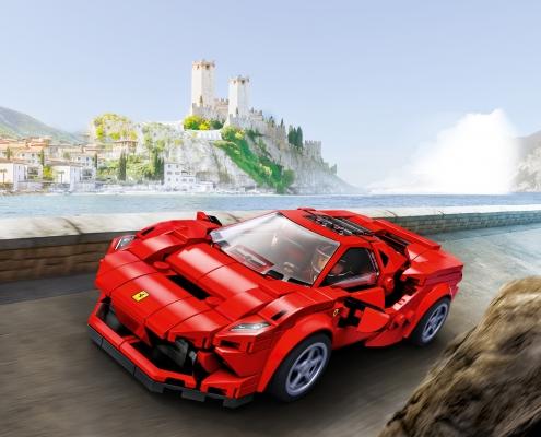 vehicule LEGO Ferrari F8 Tributo (76895)