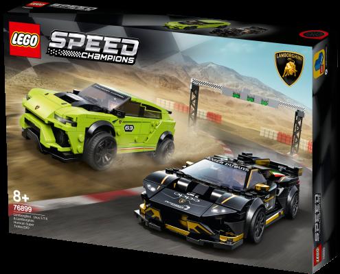 76899 - LEGO® Speed Champions Lamborghini Urus ST-X et Lamborghini Huracán Super Trofeo EVO