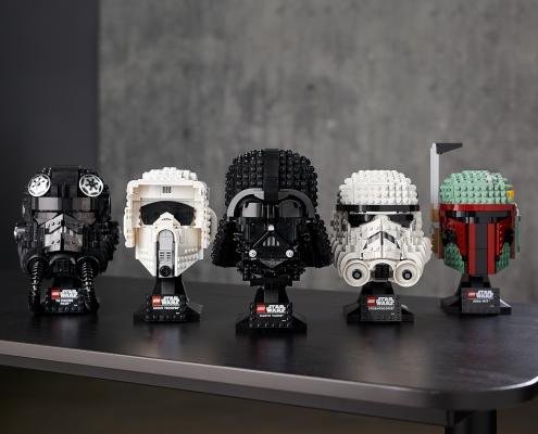 tops idées cadeaux LEGO pour adultes : casque dark vador