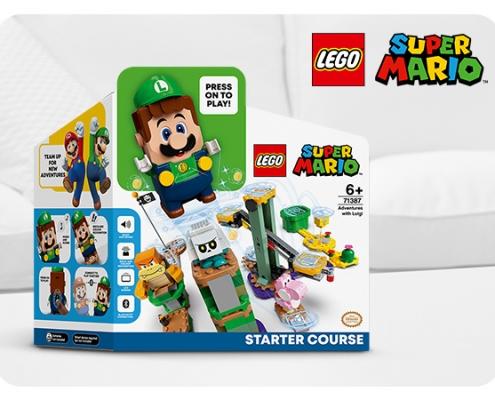 LEGO Luigi starter set