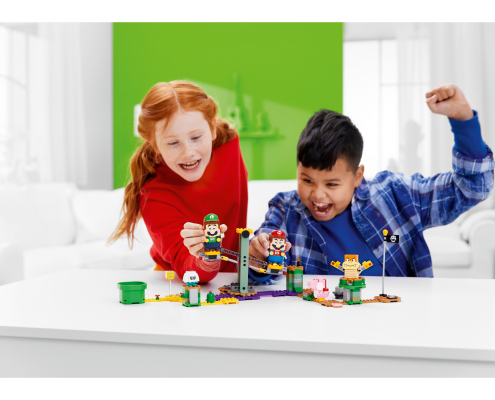 LEGO Mario et LEGO Luigi