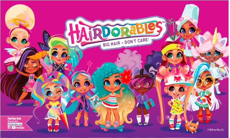 Hairdorables : les poupées qui font craquer les enfants