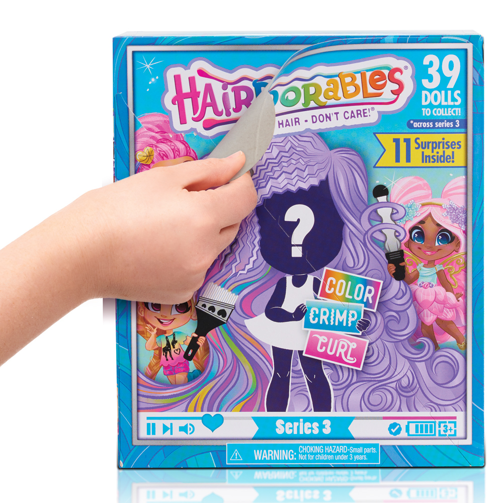 Hairdorables Packaging Surprise