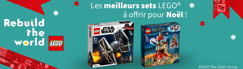 liste jouets lego a offrir pour Noel